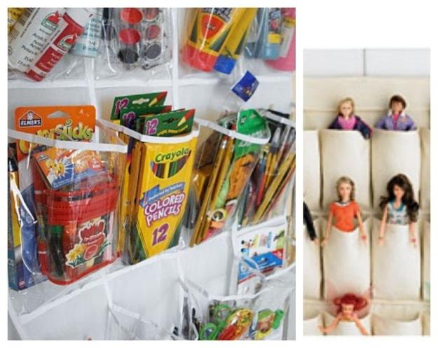 Shoe Hanger Storage Idea