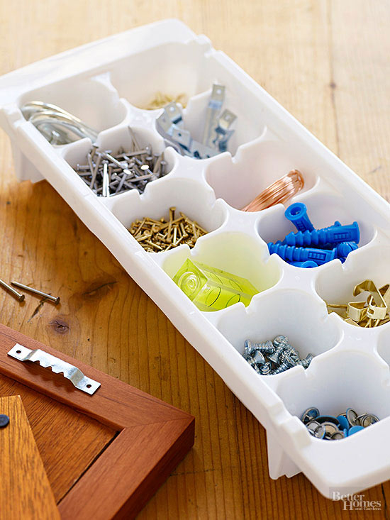 Storing Small Things; Nails and Screws