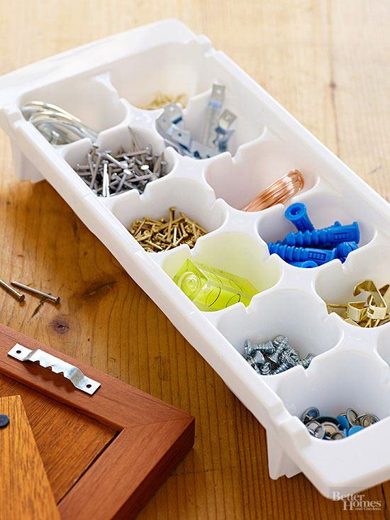 Storing Small Things; Nails and Screws