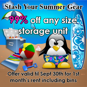 99% off your first month's rent!